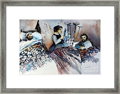 Amazing Grace Framed Print by Mindy Newman