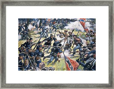 American Civil War Framed Print