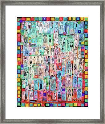 American Dreamers Framed Print by Marjorie Sarnat