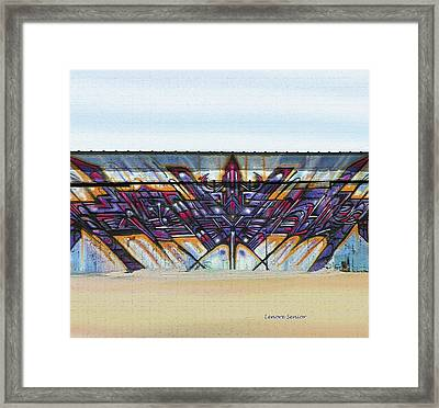 American Graffiti  Framed Print by Lenore Senior
