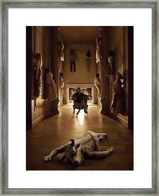 American Horror Story Coven 2013 Framed Print by Unknown