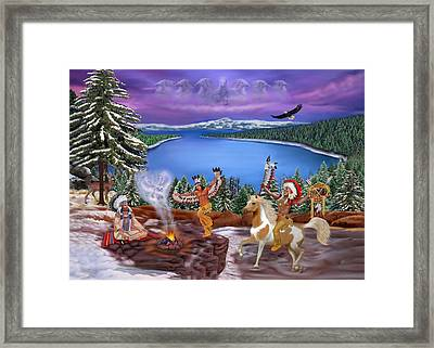 Among The Spirits Framed Print by Glenn Holbrook