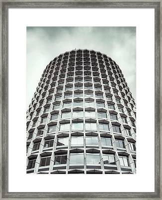 An Office Building Framed Print