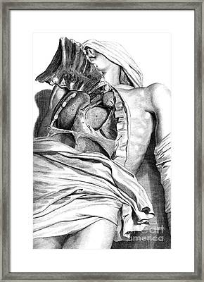 Anatomia Humani Corporis, Table 21, 1690 Framed Print by Science Source