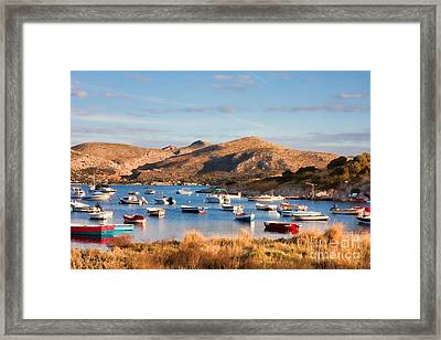 Anavyssos Bay Framed Print by Gabriela Insuratelu