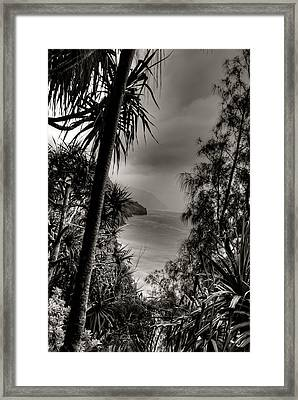 Ancient Kauai Framed Print