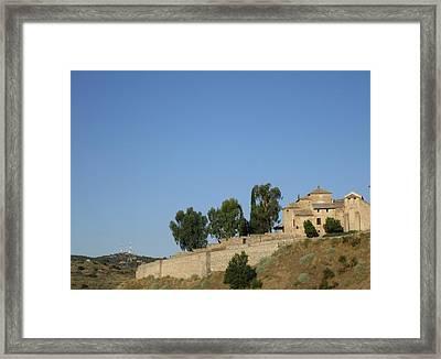 Ancient Toledo Framed Print