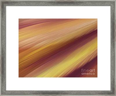 Framed Print featuring the digital art Andee Design Abstract 76 2017 by Andee Design