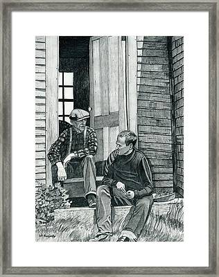 Andrew Wyeth And Alvaro Olson Framed Print