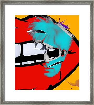 Andy Warhol Collection Framed Print