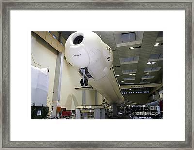 Angara Space-launch Vehicle Framed Print by RIA Novosti