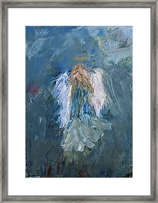 Angel Girl Framed Print