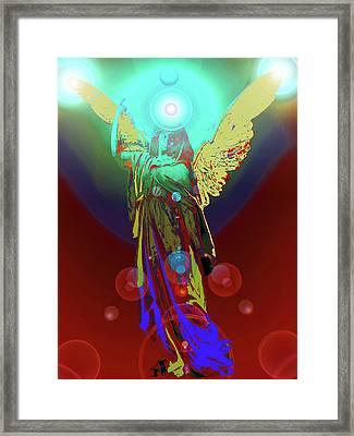 Angel Of Harmony No. 08 Framed Print by Ramon Labusch