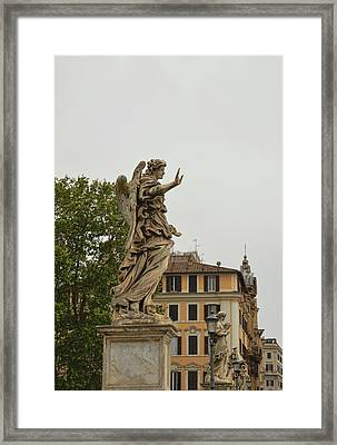 Angel With Nails Framed Print by JAMART Photography