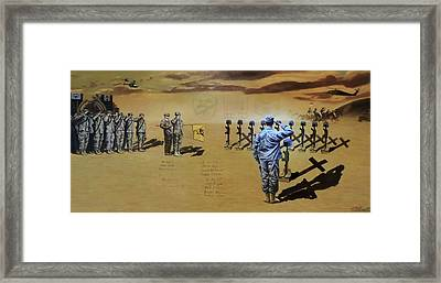 Angels Of The Sand Framed Print by Todd Krasovetz