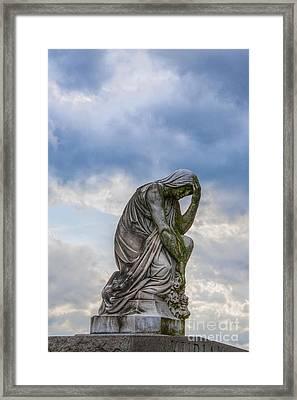 Anguish Framed Print by Randy Steele