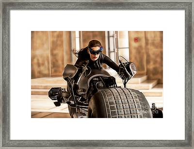 Ann Hathaway Collection Framed Print by Marvin Blaine