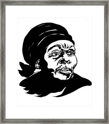 Anne Marie Nzie Framed Print