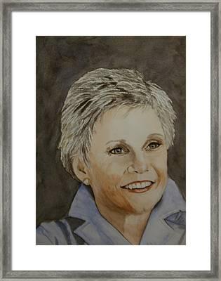 Anne Murray Framed Print by Betty-Anne McDonald