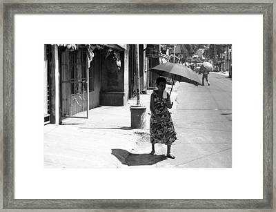 Another Hot One Framed Print by Jez C Self