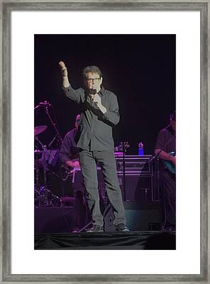 Anson Williams Singing Framed Print