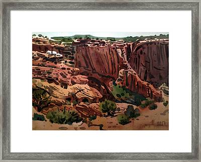 Antelope House Overlook 2003 Framed Print by Donald Maier