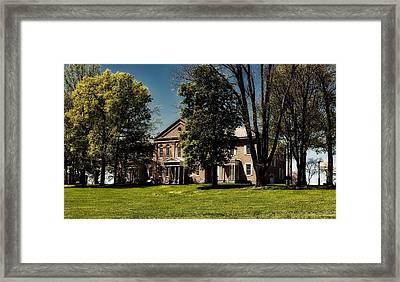Anthony Hall - Storer College Framed Print
