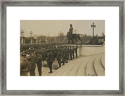 Anzac Day Framed Print by Herbert Green