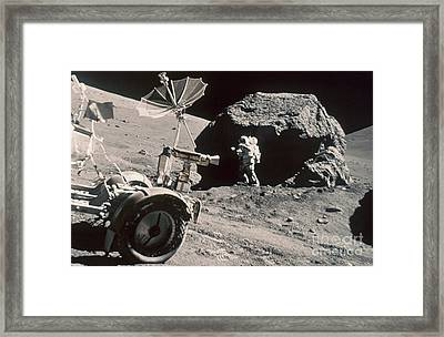 Apollo 17, December 1972: Framed Print by Granger