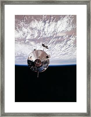 Apollo 9 Framed Print