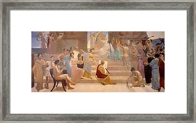Apotheosis Of Peace Framed Print by Mountain Dreams