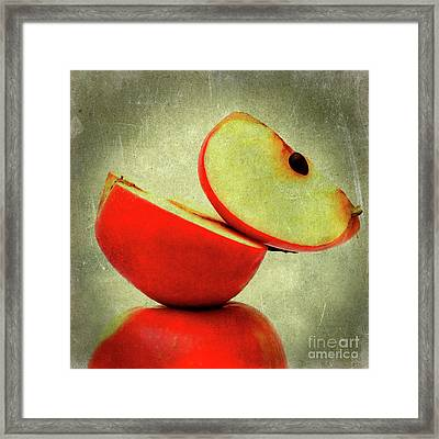 Apples Framed Print by Bernard Jaubert