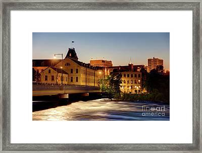Appleton Wisconsin Framed Print