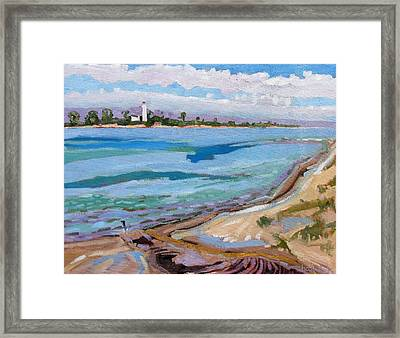 Approaching Cold Front Framed Print