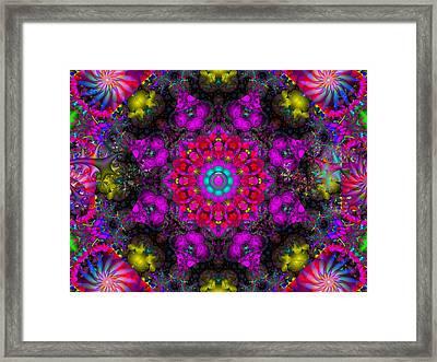 Framed Print featuring the digital art April Rain by Robert Orinski