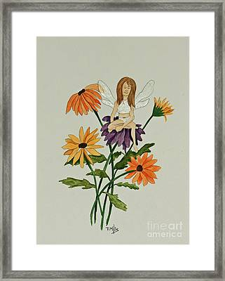 April Framed Print