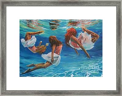 Aquarina's  Framed Print
