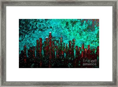 Aquatic Angel Framed Print by Chris Haugen