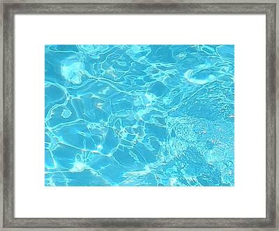 Aquatica Framed Print by Maria Bonnier-Perez