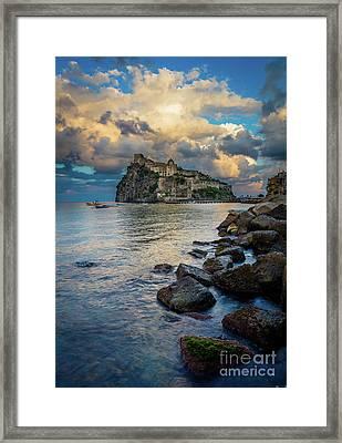 Aragonese Coastline Framed Print by Inge Johnsson