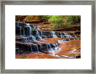 Archangel Falls Framed Print by James Marvin Phelps