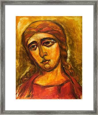 Archangel Gabriel Framed Print by Ekaterina  Prozheyko