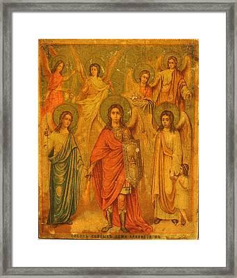 Archangels  Framed Print by Renaissance Master