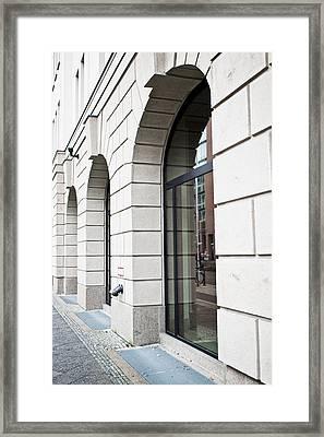 Arches Framed Print by Tom Gowanlock