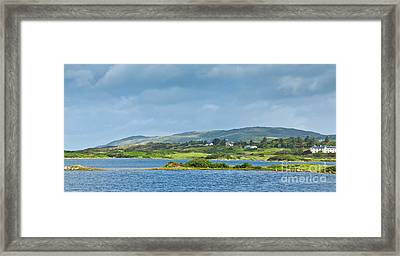 Ardmore Bay Framed Print by Gabriela Insuratelu