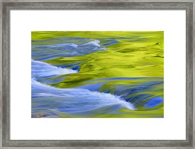 Argen River Framed Print by Silke Magino