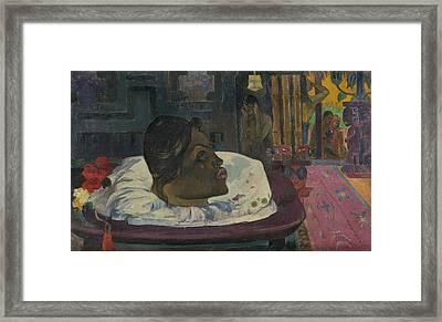 Arii Matamoe Framed Print