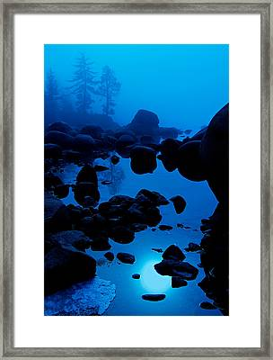 Arise From The Fog Framed Print by Sean Sarsfield