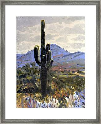 Arizona Icon Framed Print