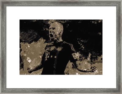 Arjen Robben 2a Framed Print